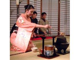 日本茶道表演